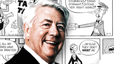 Mort Walker portrait