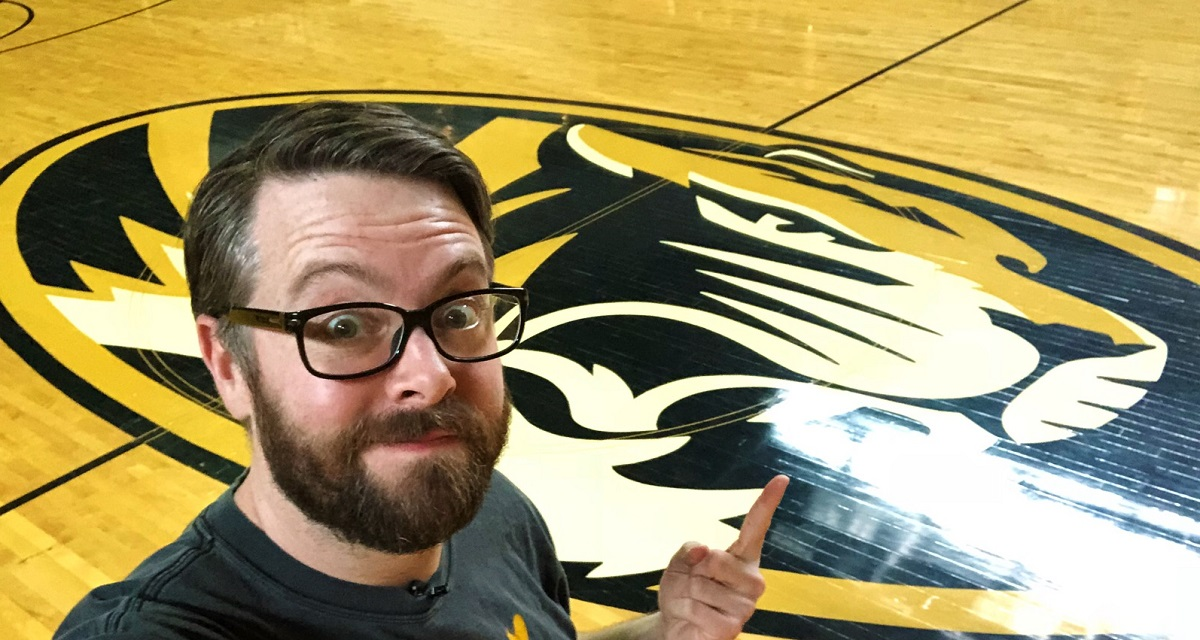 Picture of Greg Miller at Mizzou Arena