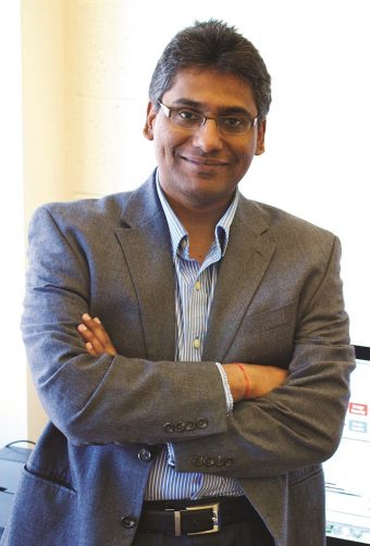 Prasad Calyam, associate professor of electrical engineering and computer science in the MU College of Engineering, researches cyber security applications in healthcare, education and manufacturing.