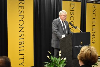 Today MU alumnus, Ronald J. Boain, announced he set aside a portion of his estate as an endowment to the University of Missouri and the Department of Physics and Astronomy.
