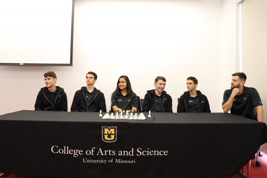 This is a picture of the MU Chess Team
