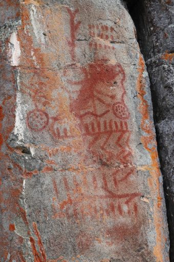Picture of rock art