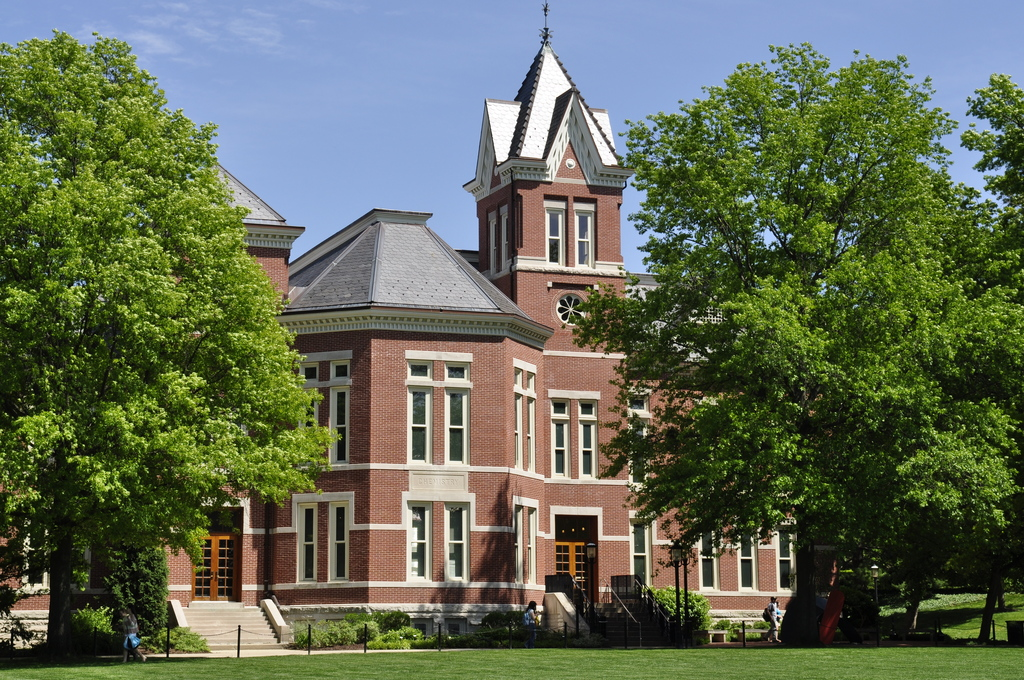 This is a picture of Pickard Hall on the MU campus
