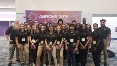 MU attendees of the 2019 ABRCMS Conference