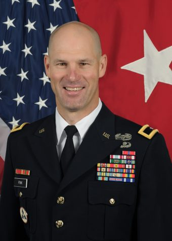 This is a picture of Brigadier General Alex Fink