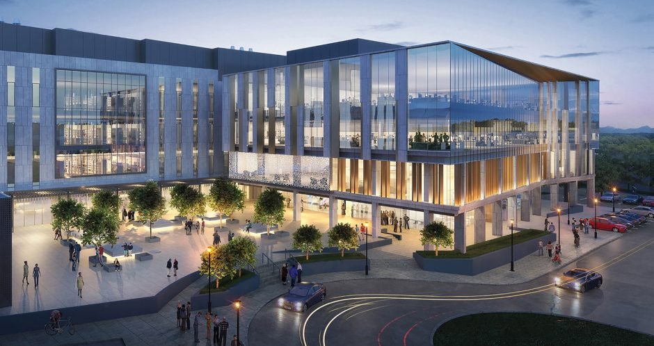 The first major research building on campus since 2004, this 265,000-sqft. state-of-the-art facility will allow our faculty to work on solving society's most pressing health concerns through cutting-edge translational precision medicine.
