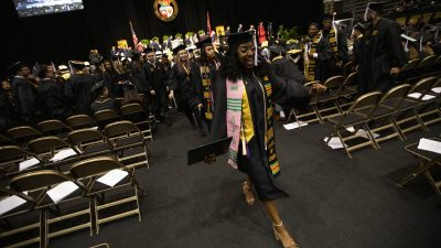 Photos from December 2019 University of Missouri Dept. of Graduate Studies Commencement on Saturday, Dec. 14, 2019 at the Hearnes Center on the campus of the University of Missouri, Columbia in Columbia, Missouri.