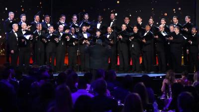 choral group singing