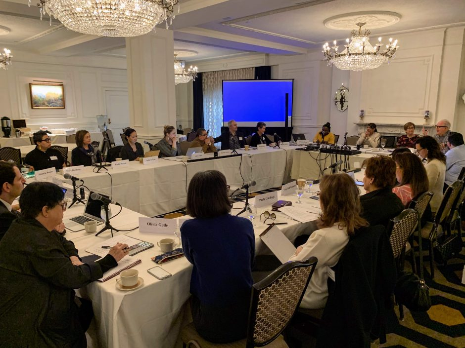 Meeting of the Commission on the Arts