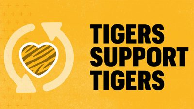 Tigers Support Tigers logo