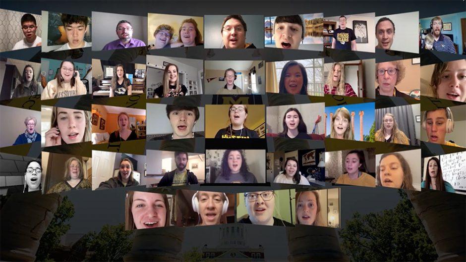 virtual choir via zoom