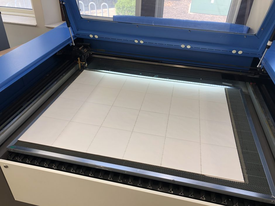 This is a picture of a laser cutter.