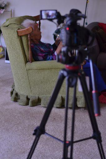 """Filming """"Nai Nai"""""""
