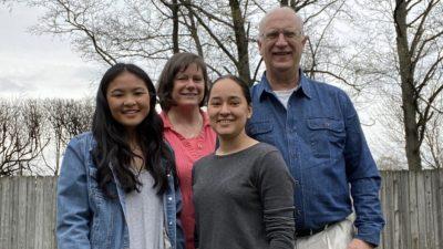 freeman family of four