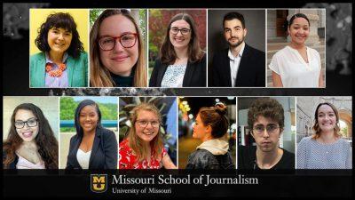 school of journalism students