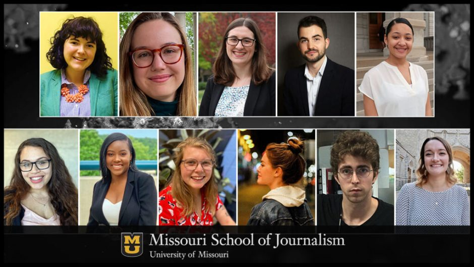 school of journalism students