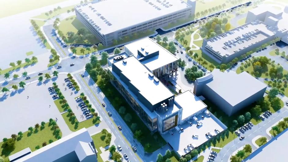 rendering of building