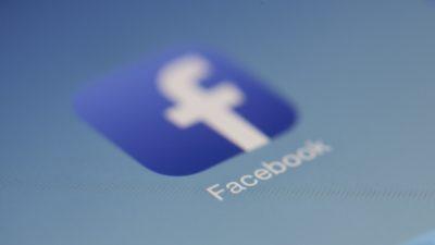 Image of Facebook app icon