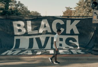 This is an image of a Black Lives Matter sign.