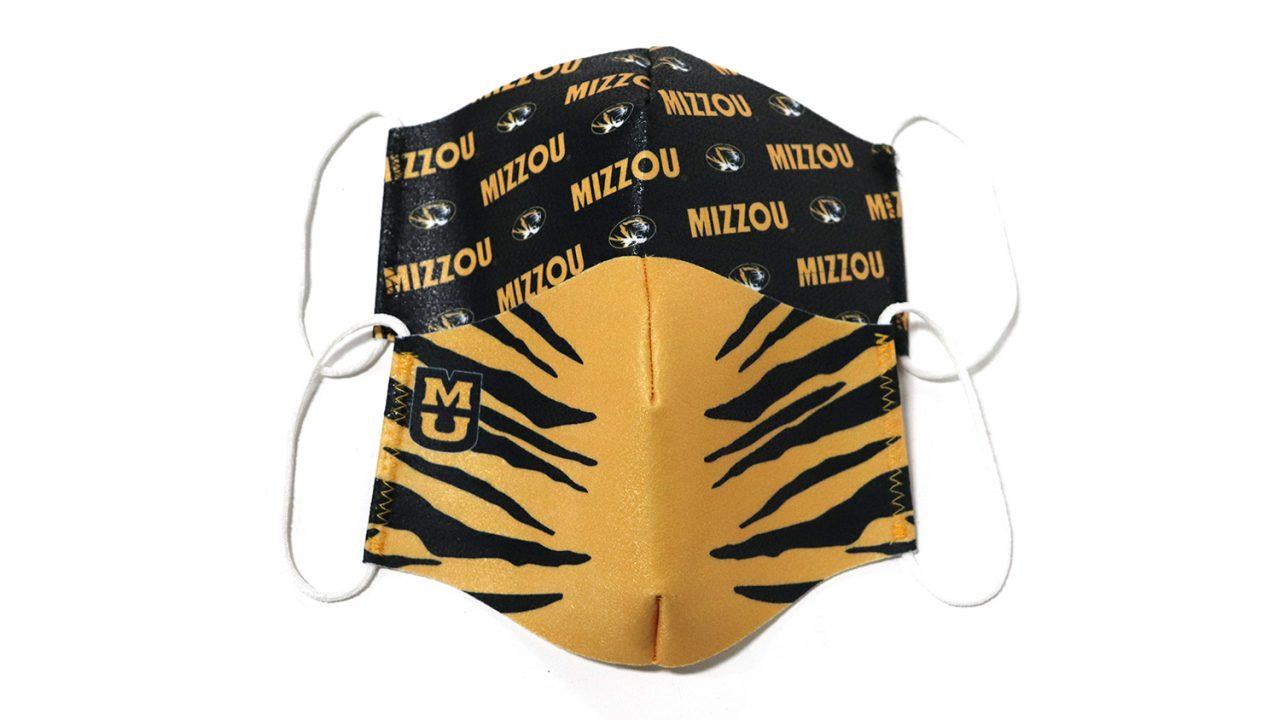 masks that are mizzou branded