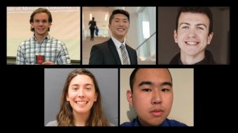 Five MU students have been awarded Chang-Lin Tien Scholarships.