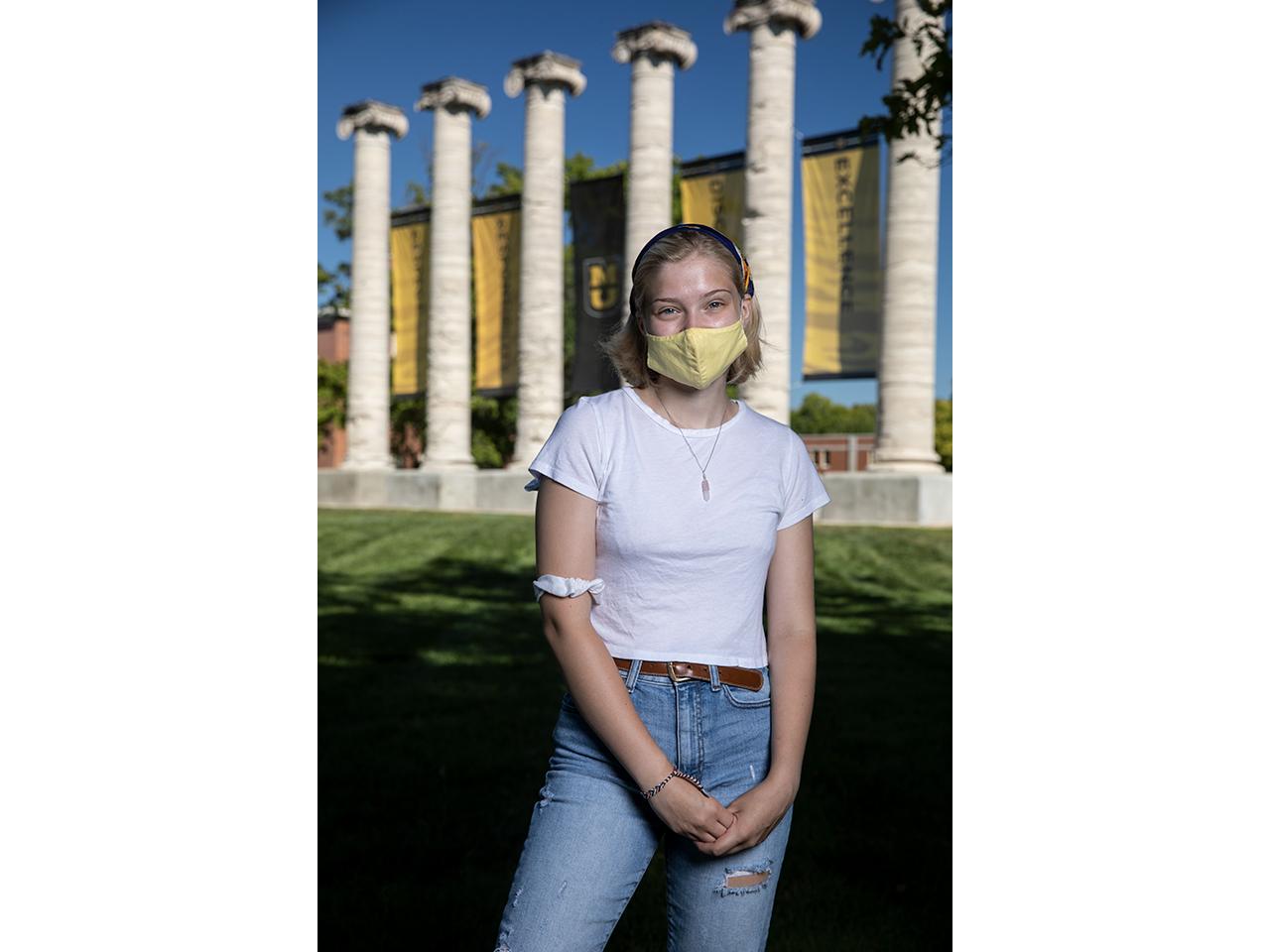 Rae Stecker, freshman journalism major