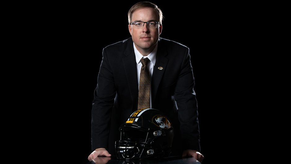 Missouri Tigers Head Coach Eliah Drinkwitz