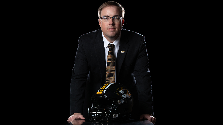 Missouri Tigers Head Coach Eliah Drinkwitz