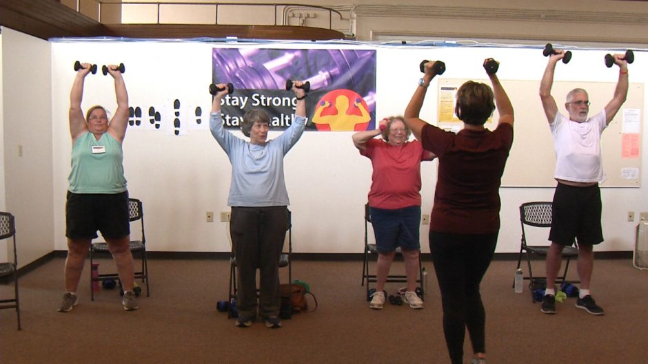 This is an image of participants in the Stay Strong, Stay Healthy program.