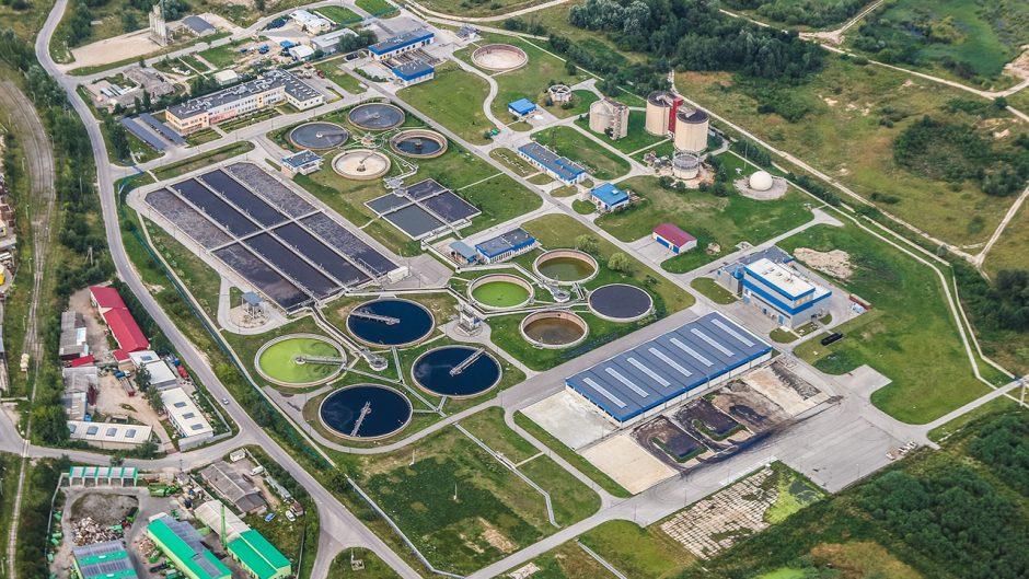wasterwater plant rendering