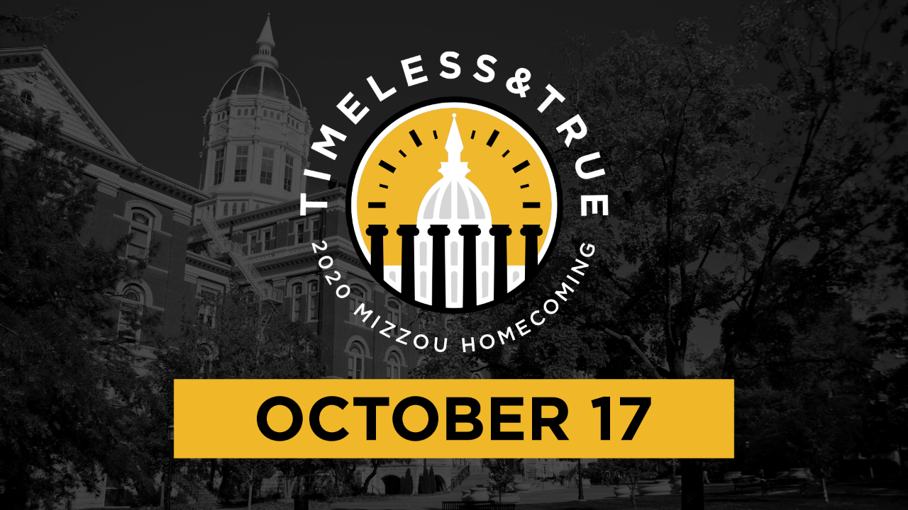 This is a picture of MU's 2020 Homecoming Logo.