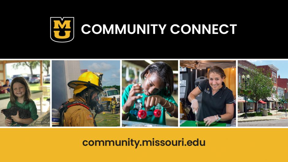 MU Community Connect graphic