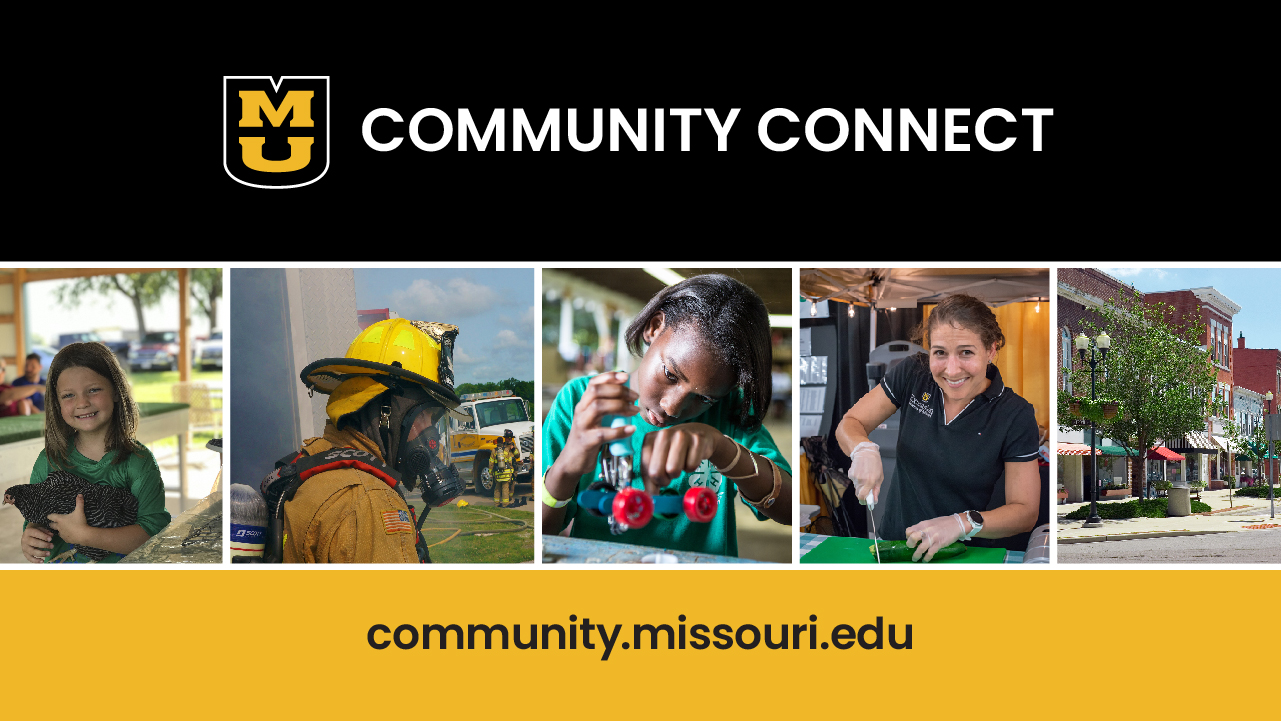 MU Community Connect graphic