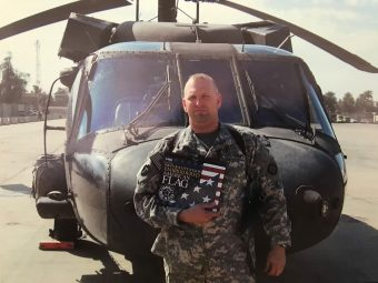 Joe Toepke us a highly decorated former Army officer who is attending Mizzou on the GI Bill.