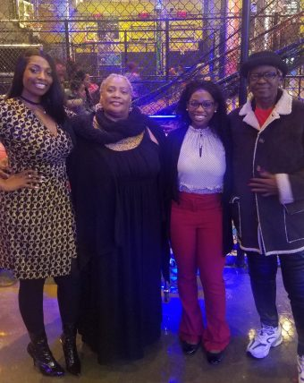 This is a picture of Julisha Wilkins and family.