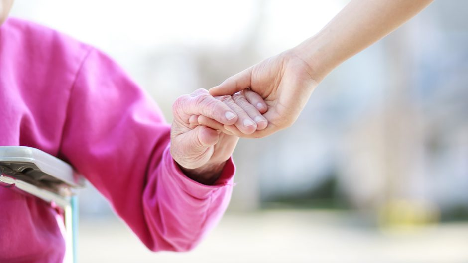 This is a picture of holding hands. Source: Shutterstock