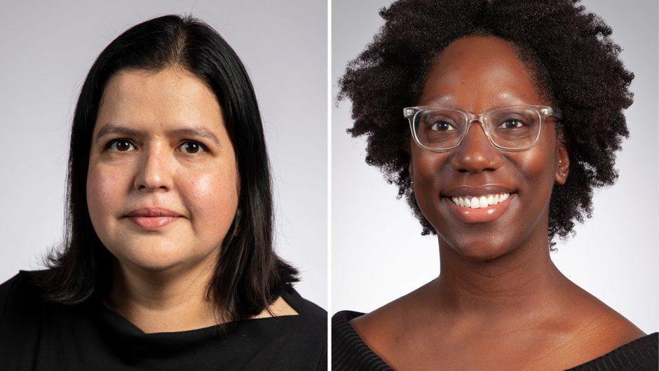 headshots of Sofia Ortega and Kaleea Lewis