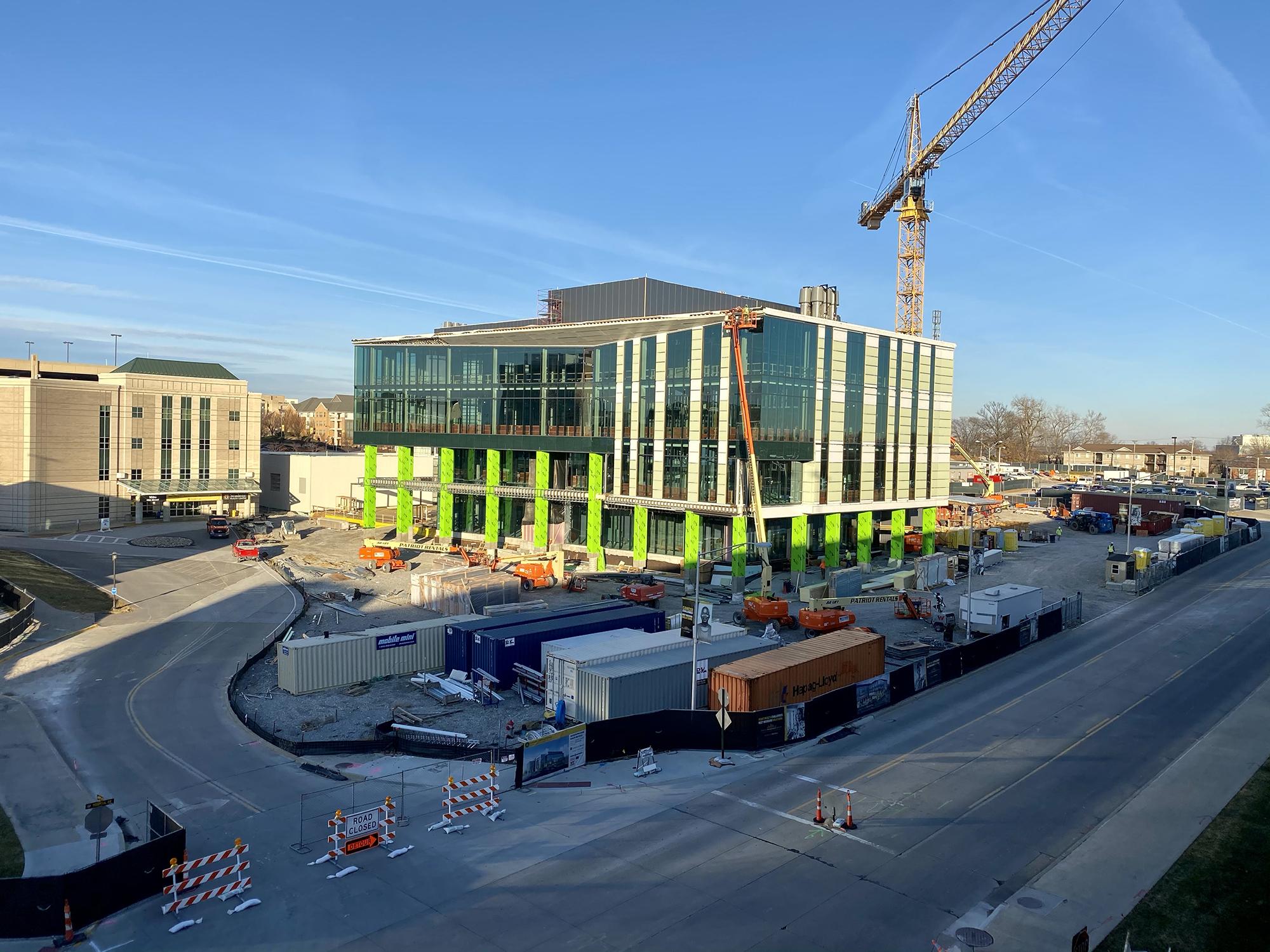 NextGen Precision Health building on Dec. 14, 2020