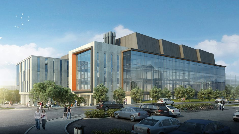 rendering of the next gen precision health building