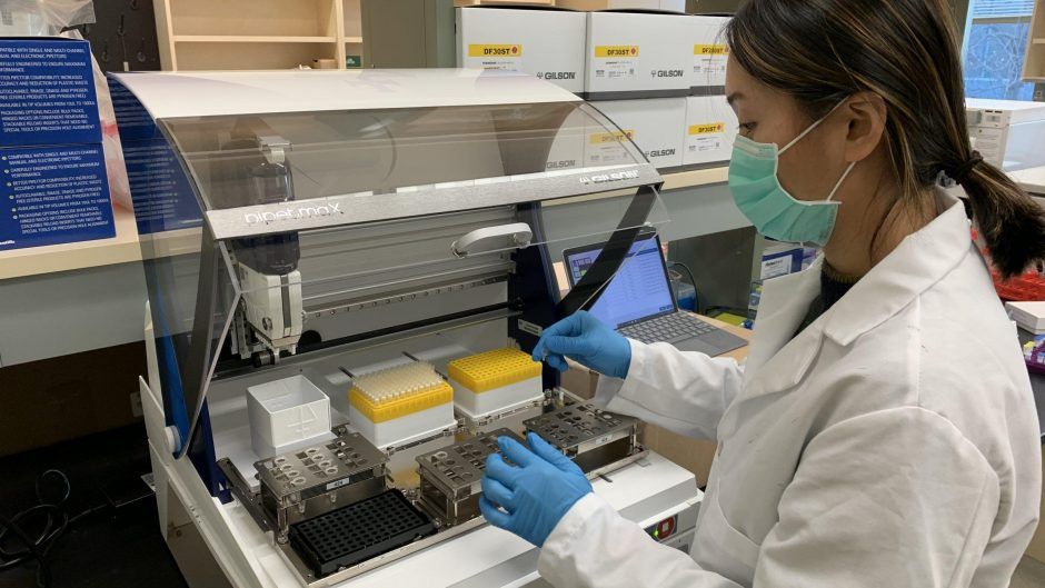 Detecting remnants of the virus that causes COVID-19 in samples of wastewater collected across Missouri.