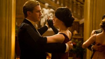 two people dancing screenshot from downtown abbey