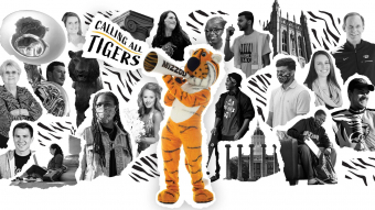 this is a graphic illustrating Mizzou Giving Day.