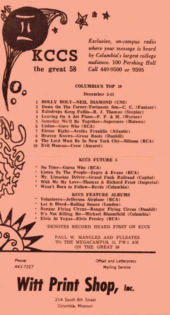 list of music hits