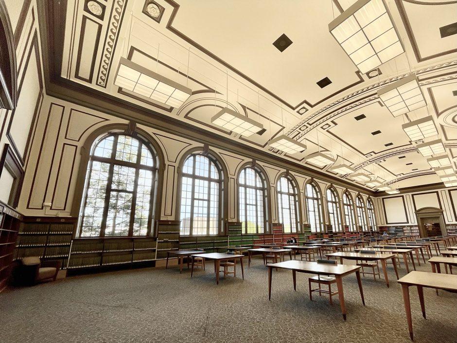 ellis library reading room