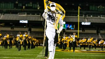 Marching Mizzou performance