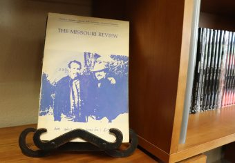 """The first issue of """"The Missouri Review"""""""