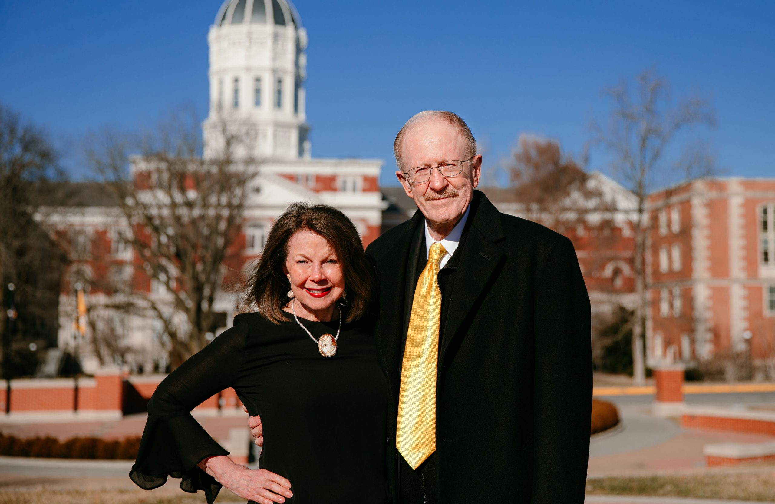 This is a photo of Patricia and Gary Coles.