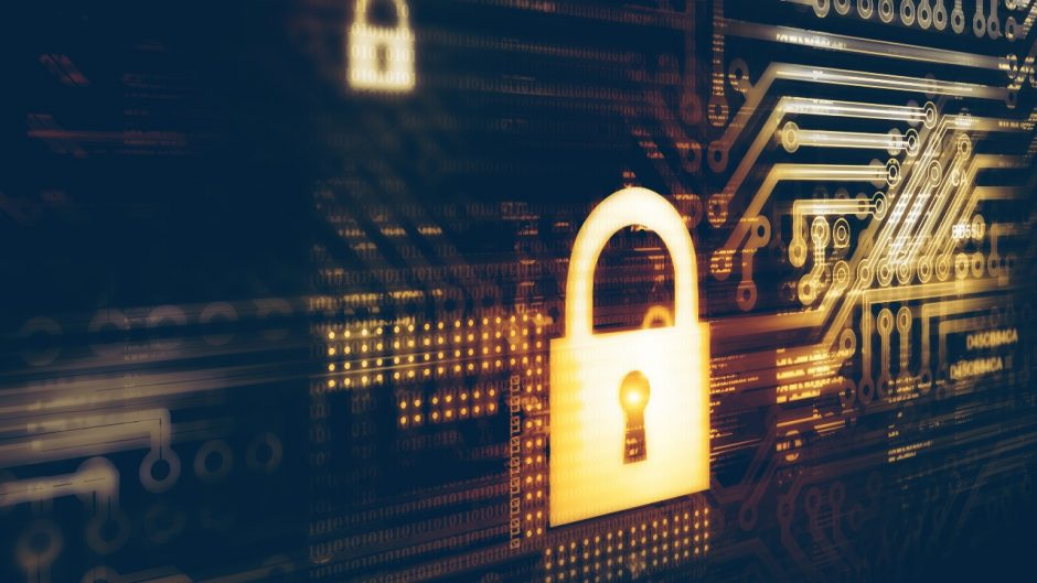 Graphic of digital security concept: Source Shutterstock