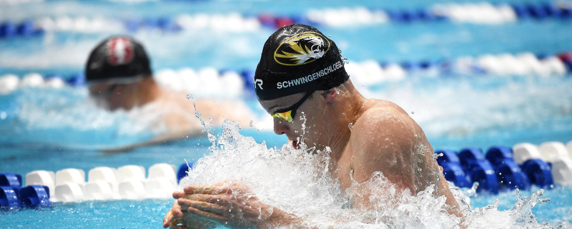 Fabian Schwingenschlögl swims for mizzou
