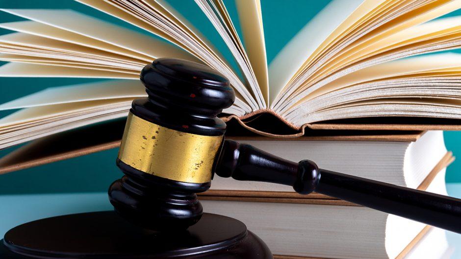 Gavel hammer and book. Source: Shutterstock